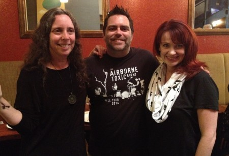 This Is Nowhere's Staff Writers (from left): Julie Stoller, Glen Hoos, Jamie Eversole