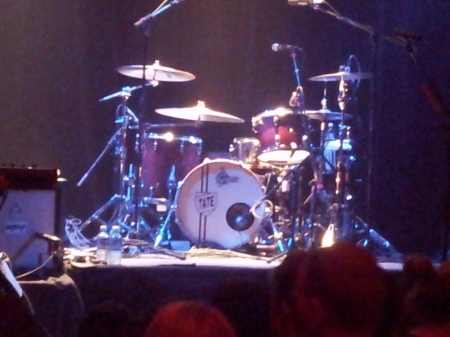 The Airborne Toxic Event drum kit
