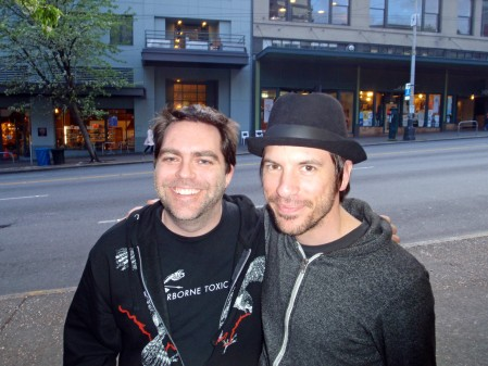 Glen with Daren Taylor of The Airborne Toxic Event