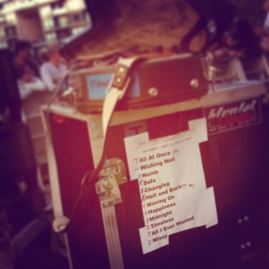 The Airborne Toxic Event: Setlist, Radio 104.5 Summer Block Party