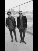 Steven Chen and Mikel Jollet of The Airborne Toxic Event