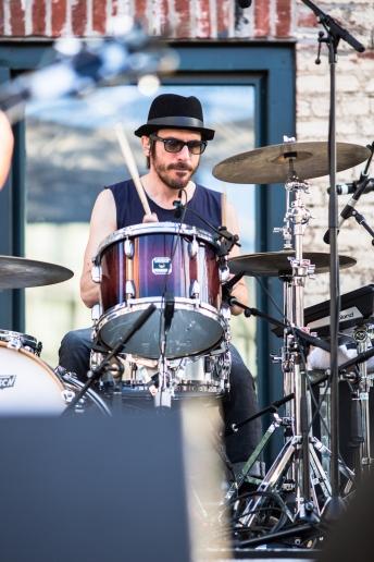 Daren Taylor, The Airborne Toxic Event Drummer
