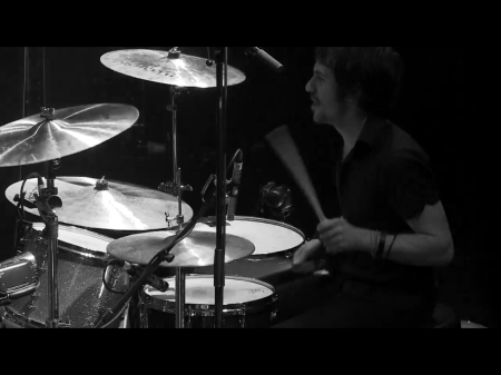 Drummer Daren Taylor of The Airborne Toxic Event