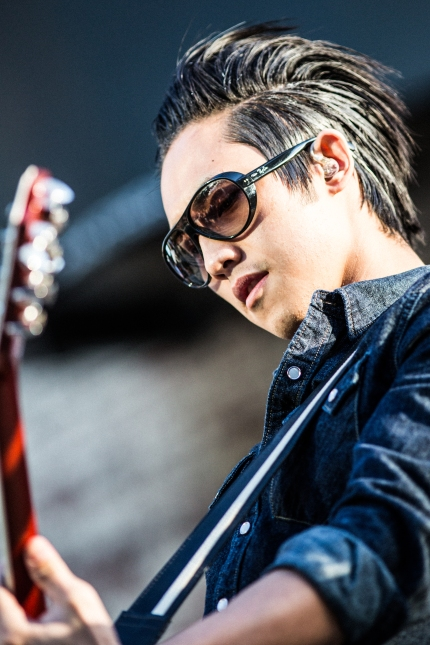 Steven Chen of The Airborne Toxic Event Photo by TATE fan Ryan Macchione