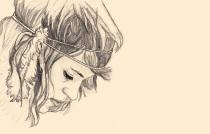 Anna Bulbrook sketch by DeviantArt user LookingForSth