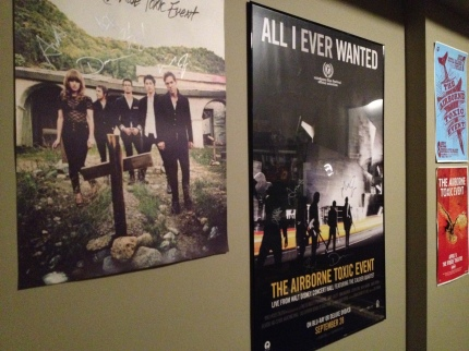 Where to put the next signed TATE poster?