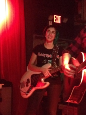 Ashley Dzerigian's first gig with The Airborne Toxic Event