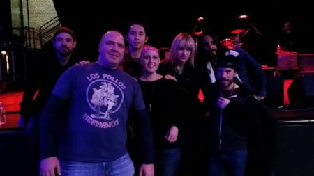 Angela and Ryan meet The Airborne Toxic Event