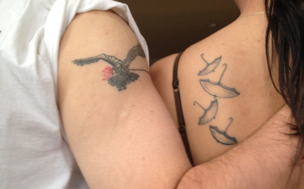 Tate Oos Tattoos Inspired By The Airborne Toxic Event This Is Nowhere