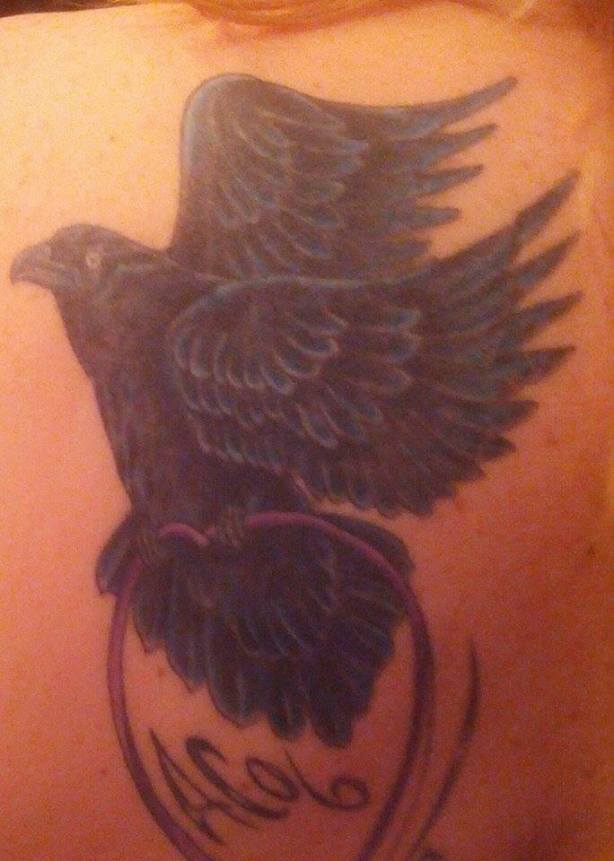 Airborne Toxic Event Tattoo: Spreading Her Wings