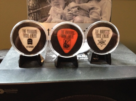 The Airborne Toxic Event guitar picks