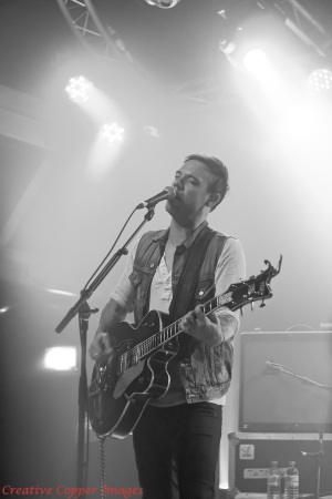 Mikel Jollett of The Airborne Toxic Event: Glasgow Garage, 2012. Photo by TATE fan Jennifer McInnis.