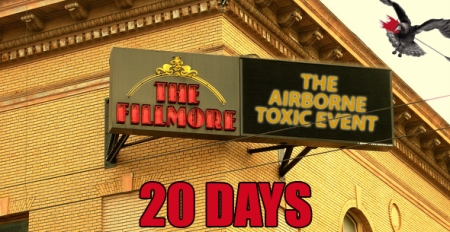 The Airborne Toxic Event #Fillmorecountdown: 20 Days