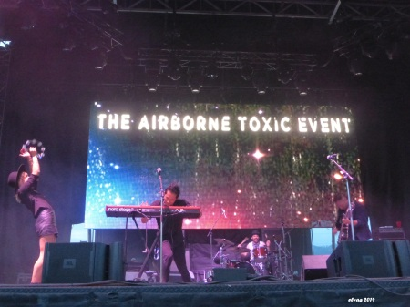 The Airborne Toxic Event, Boonstock Music Festival, Penticton, BC, Aug. 1, 2014. Photo by TATE fan Elva.