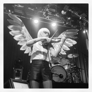 Angel Anna Bulbrook. Photo by Tracey, Fillmore Residency, Sept. 2014.