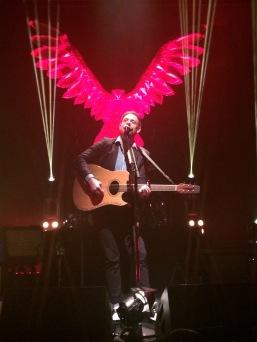 Mikel Jollett, unplugged. Photo by Jamie, Oct. 2, 2014, Washington, DC.