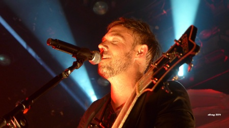 Mikel Jollett of The Airborne Toxic Event. Photo by Elva, Sept. 18, 2014, San Francisco, CA.