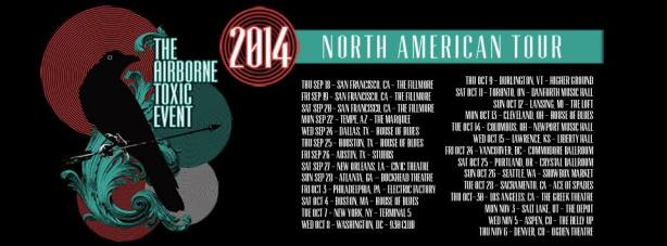 The Airborne Toxic Event Fall Tour 2014