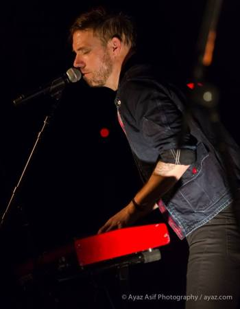 Mikel Jollett of The Airborne Toxic Event. Photo by Ayaz Asif Photography, https://www.facebook.com/AyazAsifPhotography.