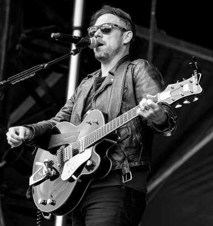 Mikel Jollett of The Airborne Toxic Event at Sonic Boom, Aug. 2014. Photo by Creative Copper Images (http://www.creativecopperimages.com/).