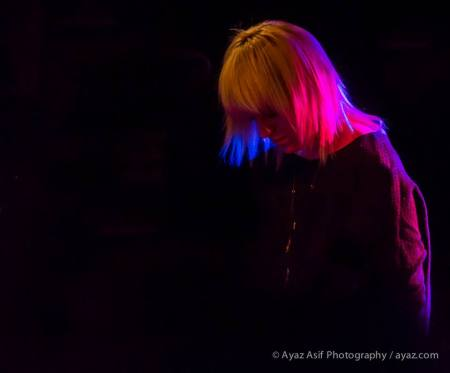 The multi-talented Anna Bulbrook of The Airborne Toxic Event. Photo by Ayaz Asif Photography, https://www.facebook.com/AyazAsifPhotography.