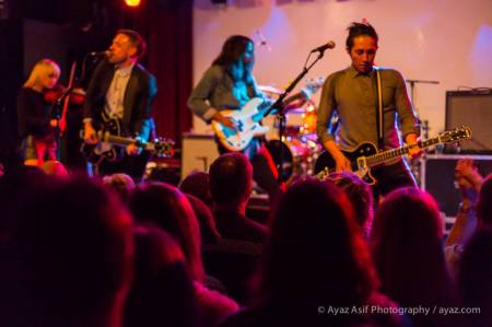 The Airborne Toxic Event delighted the crowd when the Dope Machines Tour hit Boston. Photo by Ayaz Asif Photography, https://www.facebook.com/AyazAsifPhotography.