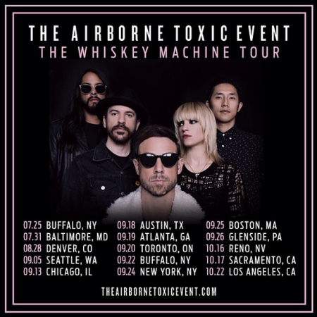 The Airborne Toxic Event's Whiskey Machine Tour