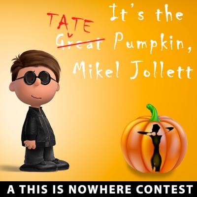 Airborne Toxic Event pumpkin contest