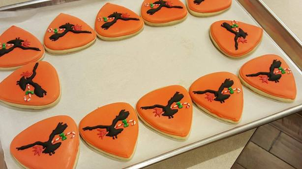 The Airborne Toxic Event Christmas Cookies