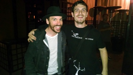 Matt with Daren Taylor of The Airborne Toxic Event