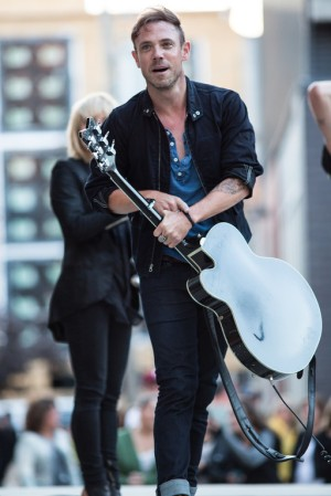 Mikel Jollett of The Airborne Toxic Event. Photo by Ryan Macchione.