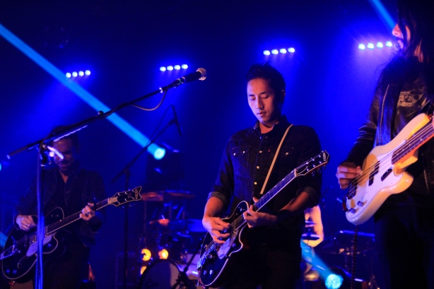 Steven Chen of The Airborne Toxic Event, 2015