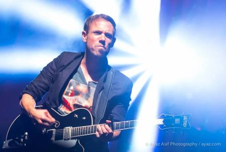 Mikel Jollett of The Airborne Toxic Event performs in Boston in the fall of 2014. Photo by Ayaz Asif Photography: https://www.facebook.com/AyazAsifPhotography.
