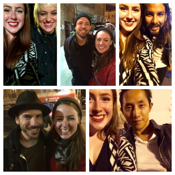 Sarah with The Airborne Toxic Event